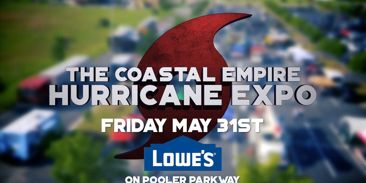 Join the First Alert Weather Team at the Coastal Empire Hurricane Expo on Friday
