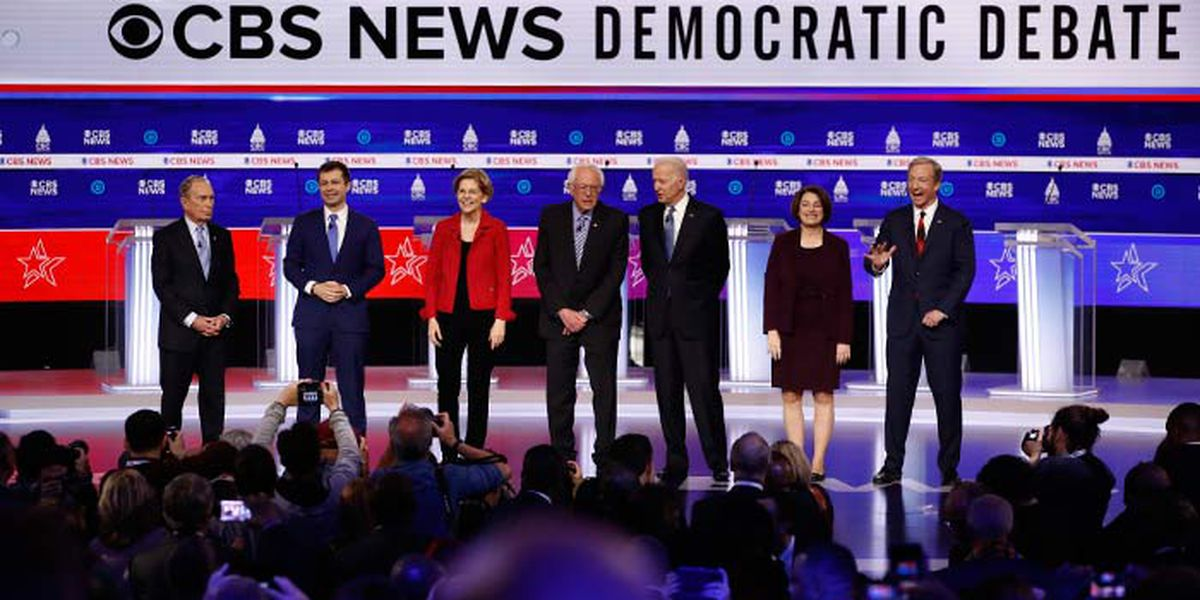 Candidates square off in Democratic presidential debate showdown in Charleston