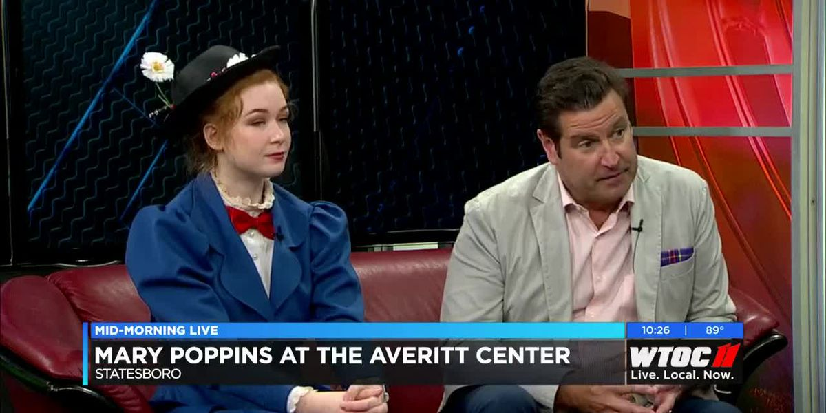 Mary Poppins at the Averitt Center