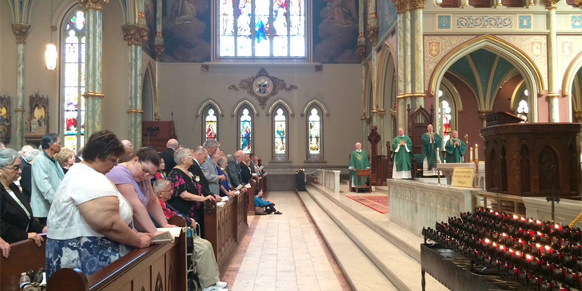 Couples celebrate love and marriage at St. John the Baptist