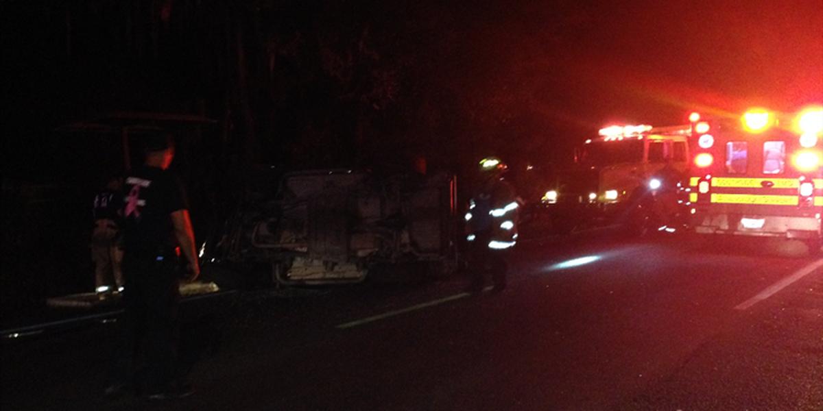 Police investigating overnight crash on Quacco Rd, Loch Way