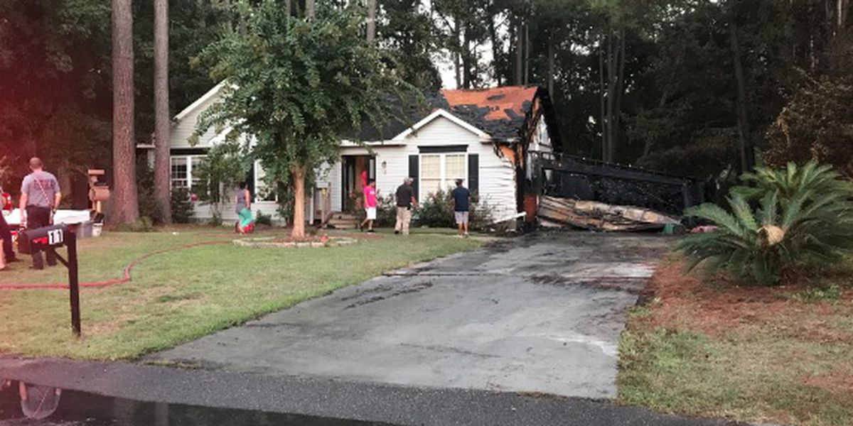 Bluffton Fire responds to house fire, saves animals inside