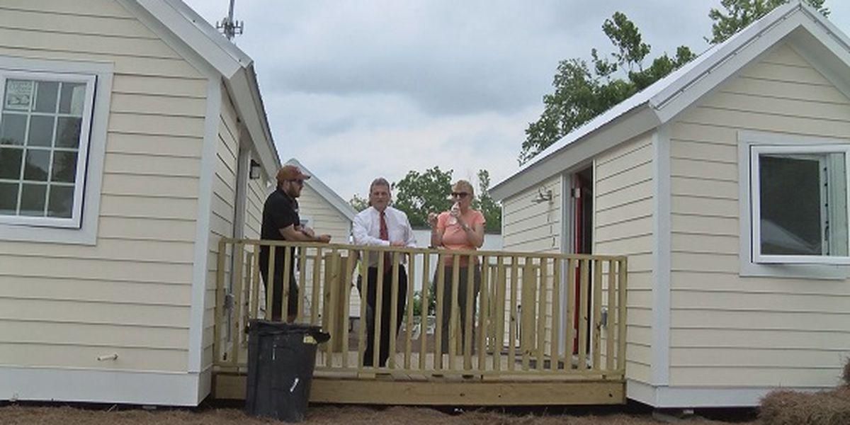 Congressman Carter tours Tiny House Project in Savannah