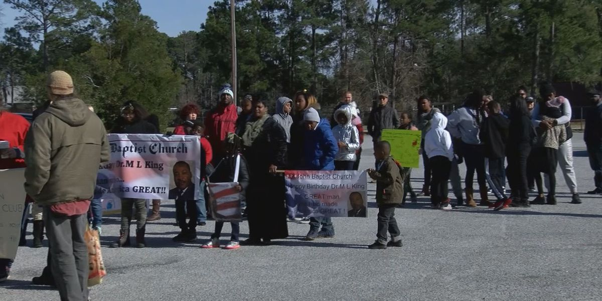March held in Bluffton to remember Martin Luther King Jr.