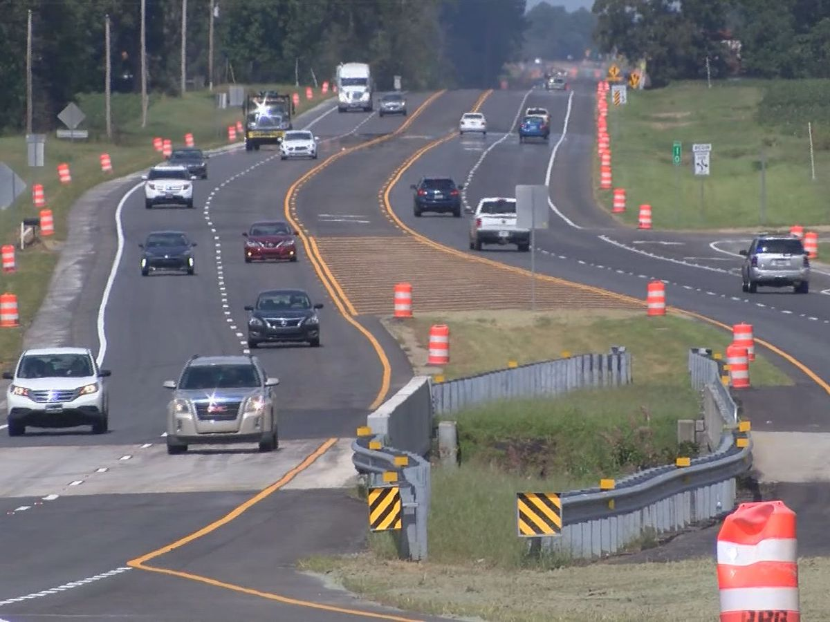 Hwy. 67 in Statesboro reopening