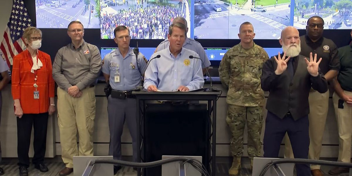 Georgia governor: No more National Guard troops for now