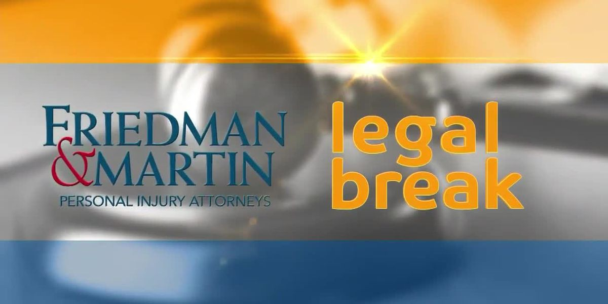 Legal Break with Friedman & Martin: What if the at-fault party doesn't carry enough coverage?