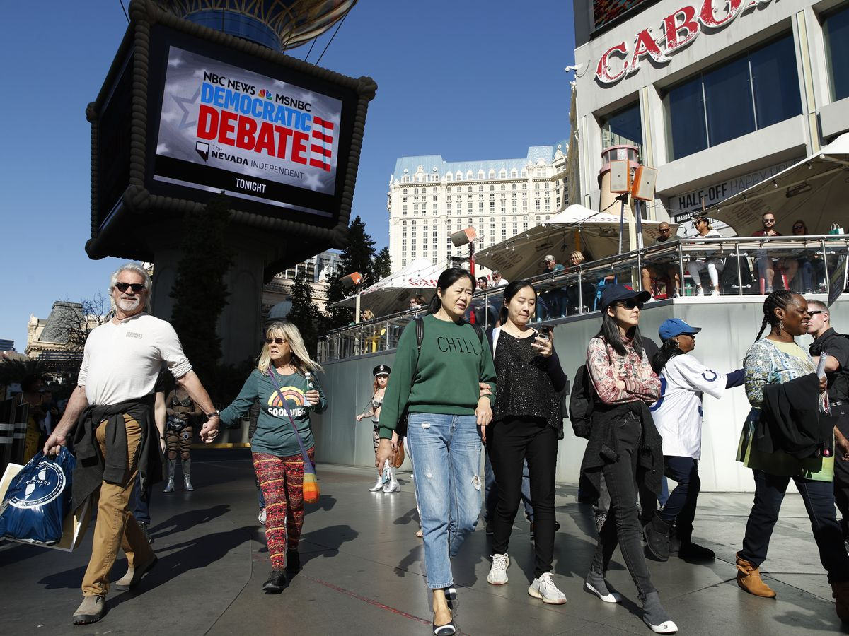 Democrats face an important test in Nevada caucuses