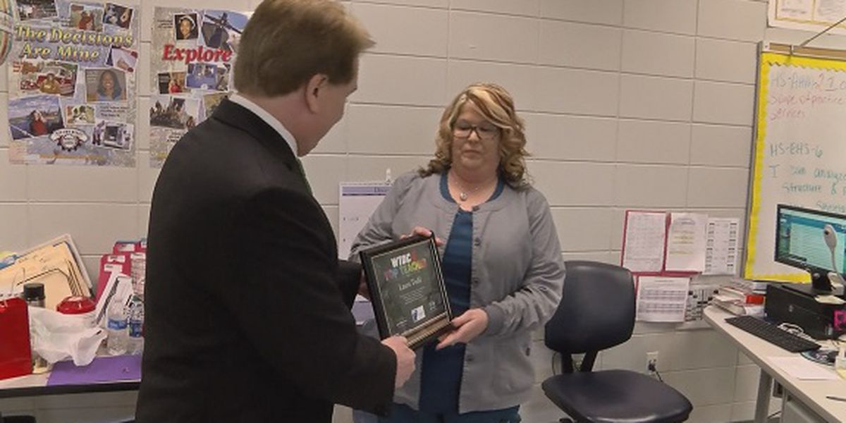 Top Teacher: Laura Todd, Long County High School