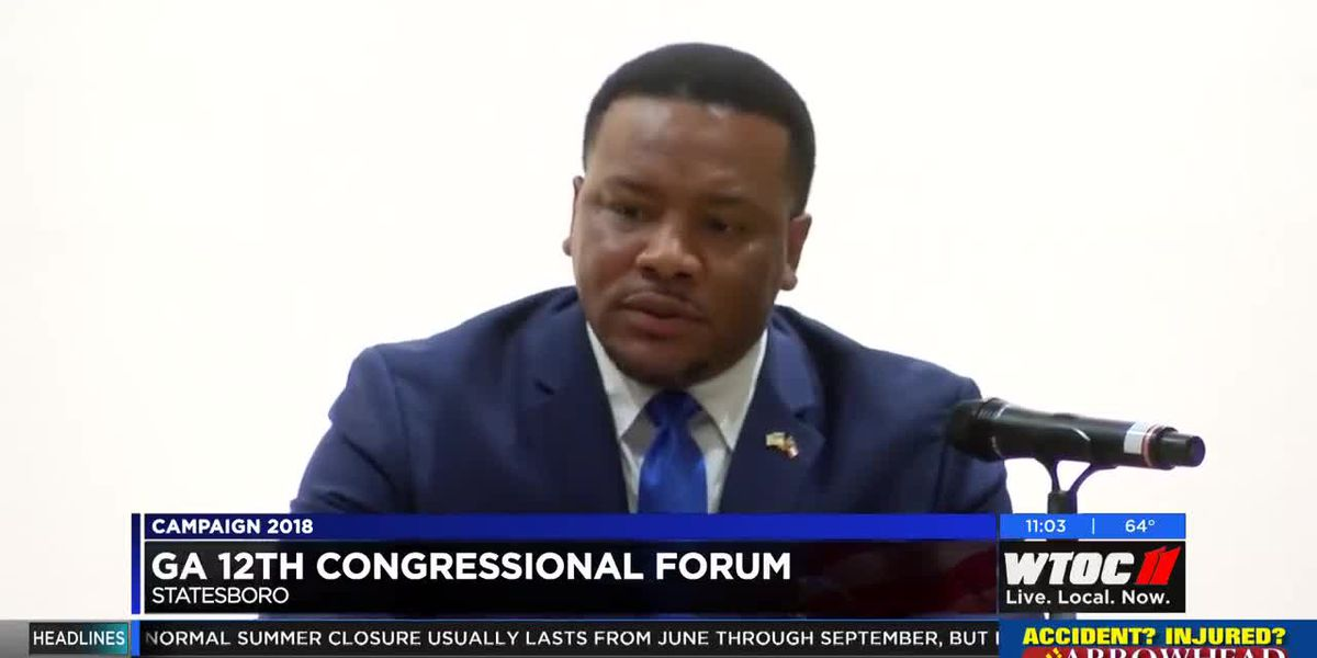 GA 12th Congressional Forum held in Statesboro