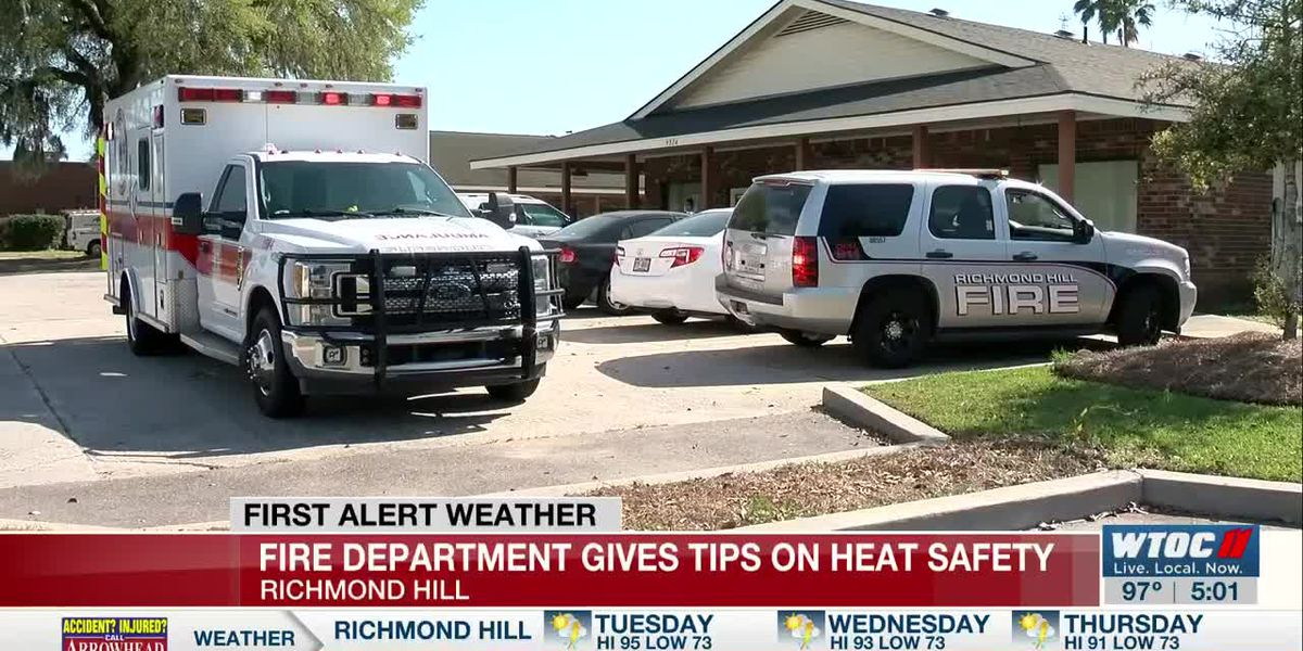 Richmond Hill Fire Dept. gives heat safety tips