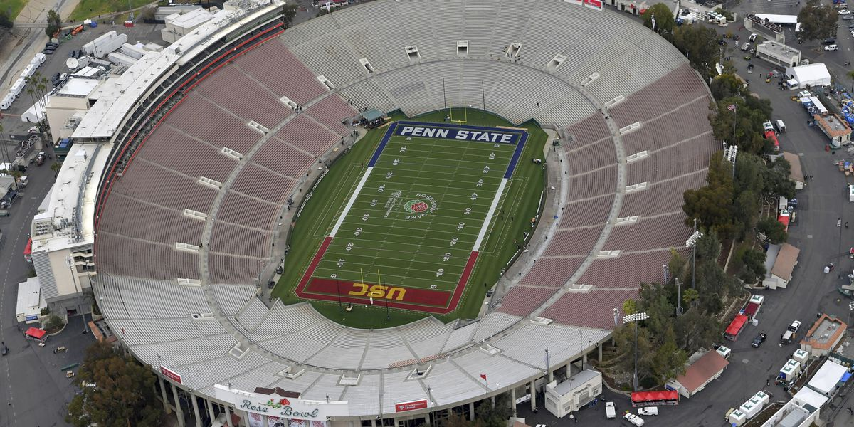 No fans to be allowed at Rose Bowl for CFP semifinal game