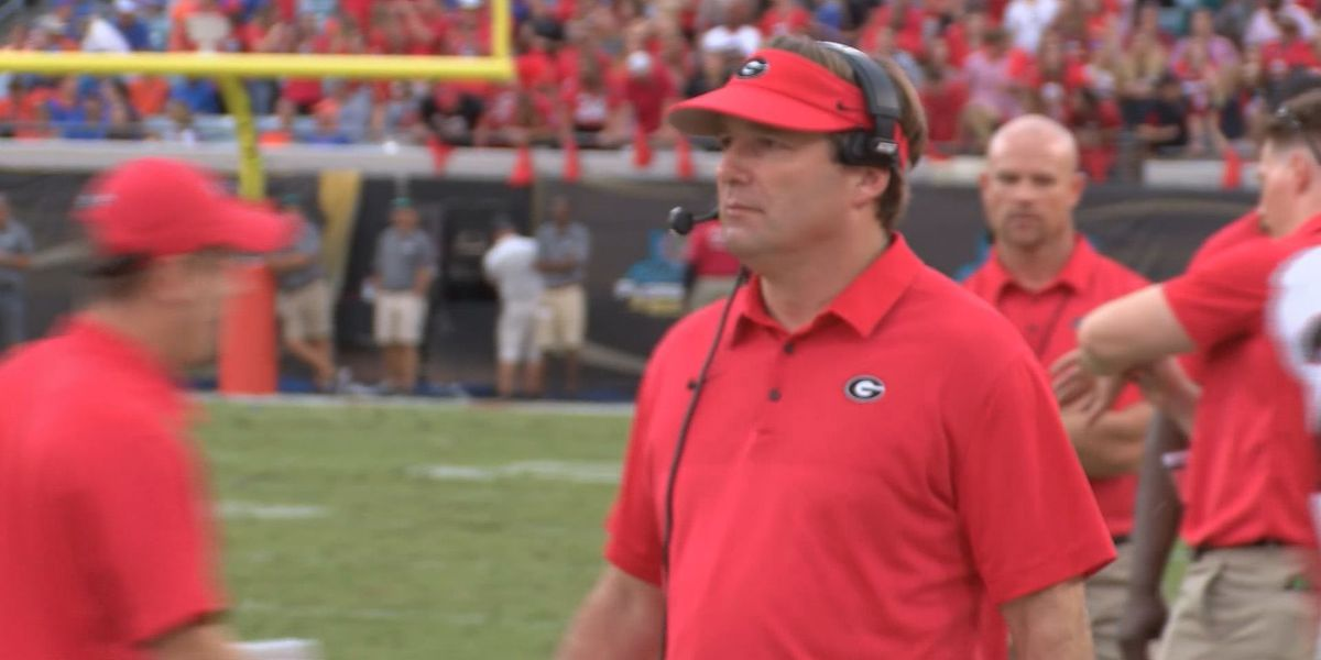 Georgia's Kirby Smart Is Sporting News Coach Of The Year