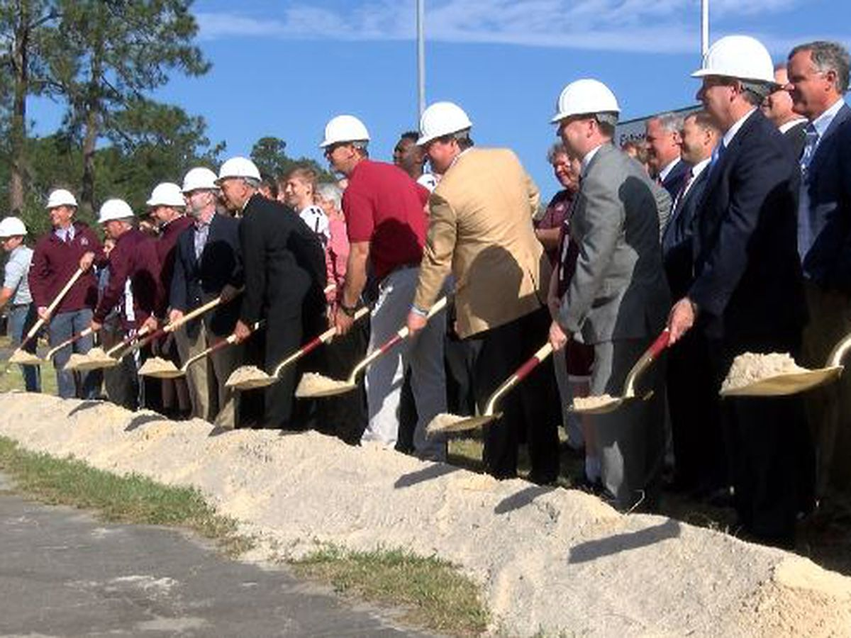 Benedictine breaks ground on Father Albert Field