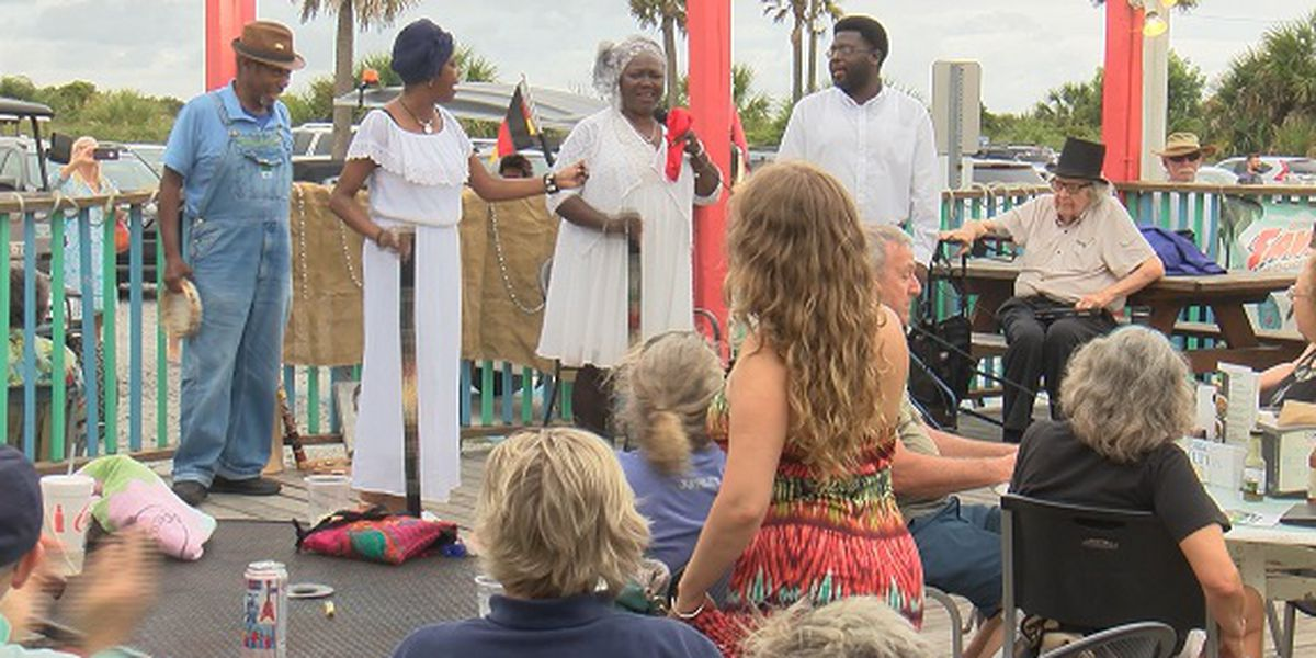 4th Annual Juneteenth Wade-In held on Tybee Island