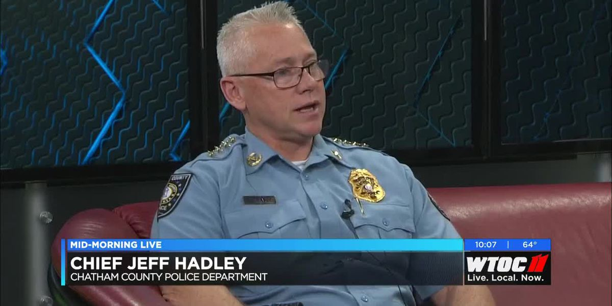 CCPD Chief Jeff Hadley discusses the new department's upcoming inter-agency collaborations.