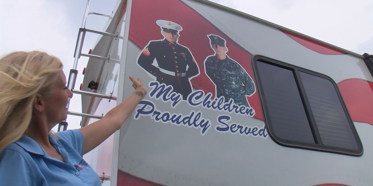 Woman raising awareness for veterans, first responders with mental illness stops in SC