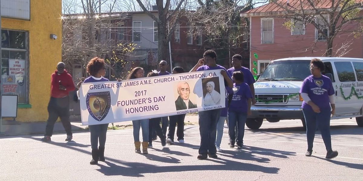 Founder's Day Parade marks African Methodist Episcopal churches 201st anniversary