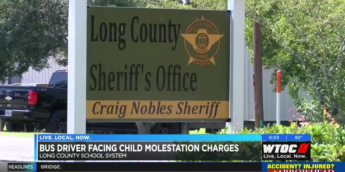 Community weighs in after Long County bus driver charged with child molestation