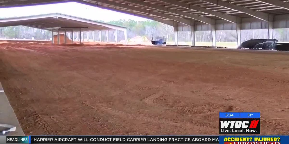 Ag Arena construction continues in Bulloch County