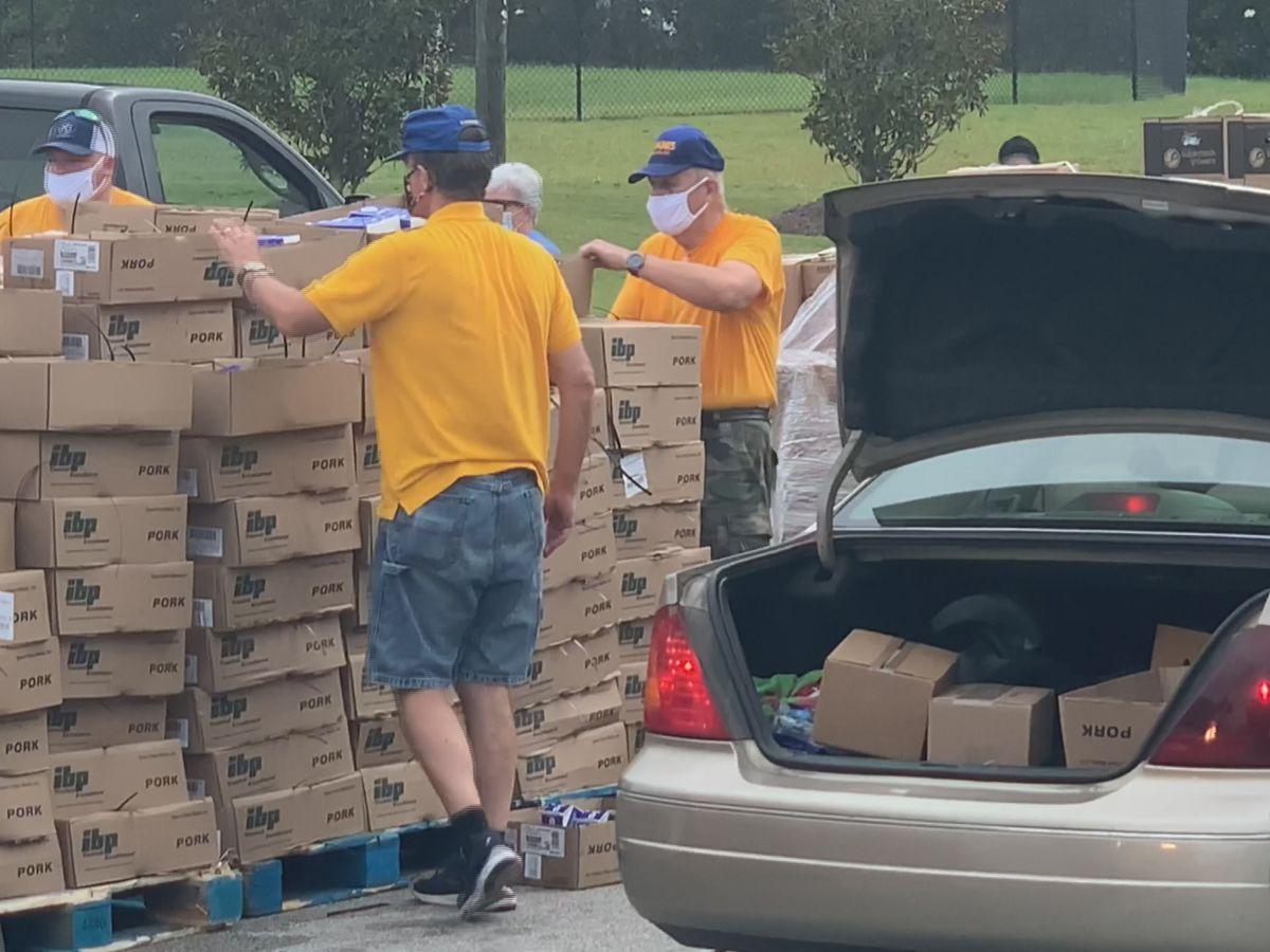 Statesboro food drop benefits 1,000 families