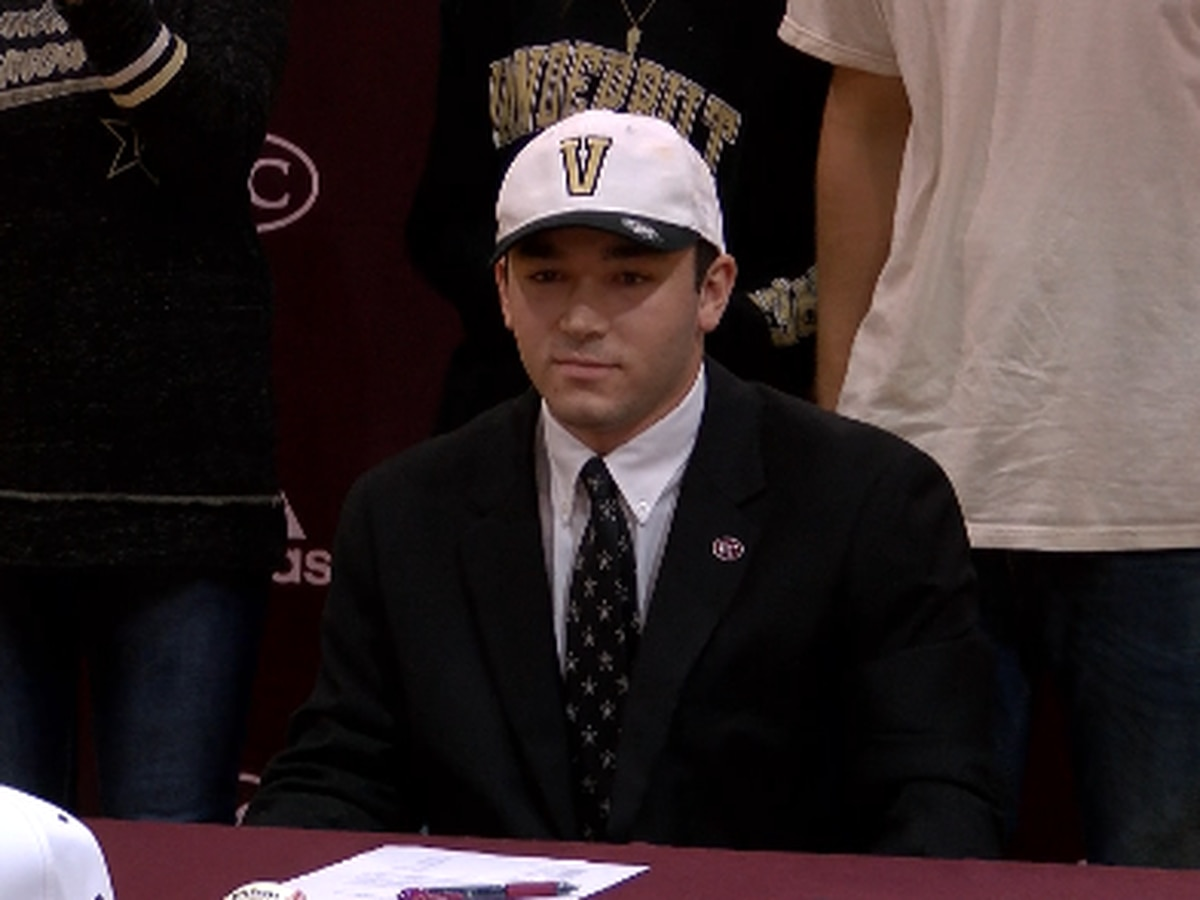 Benedictine's Holton signs with Vandy, now waits on MLB Draft