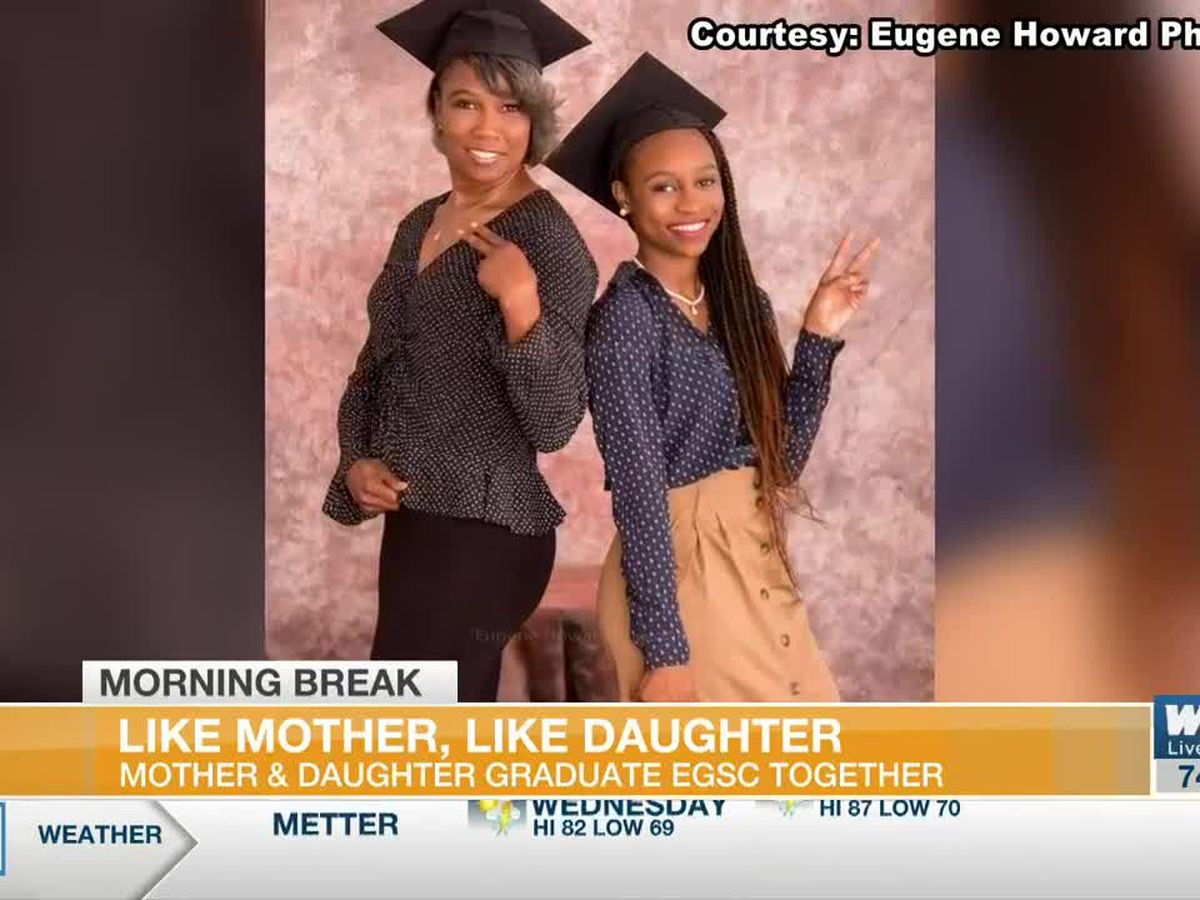Mother & Daughter Celebrate Educational Milestone Together