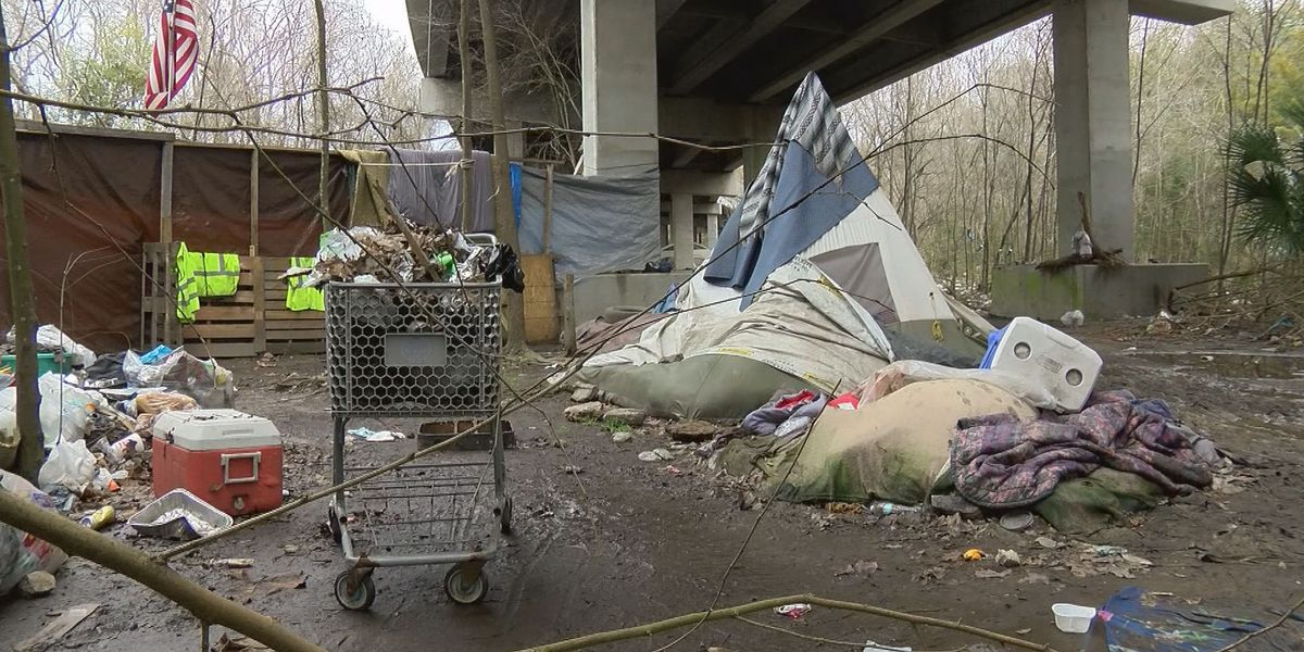 'I think it's going to get worse': More people living in homeless camps in Savannah