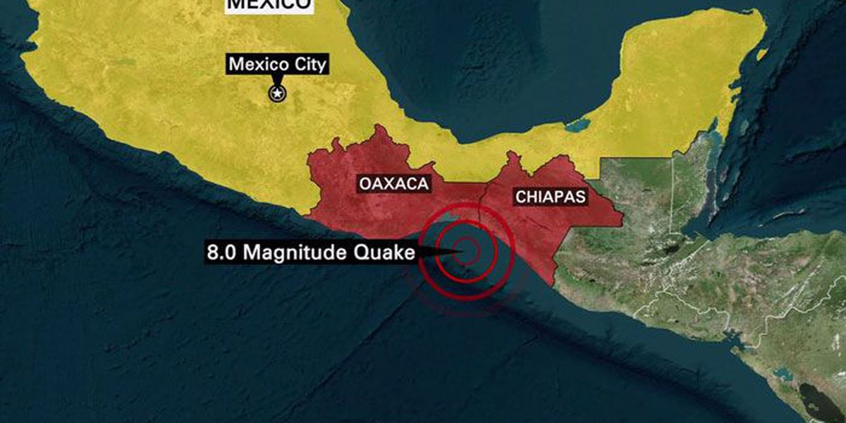 Mexico hit by 8.2 quake, biggest in a century. At least 5 killed, tsunami waves spread panic. | Details on Daybreak and in the app.