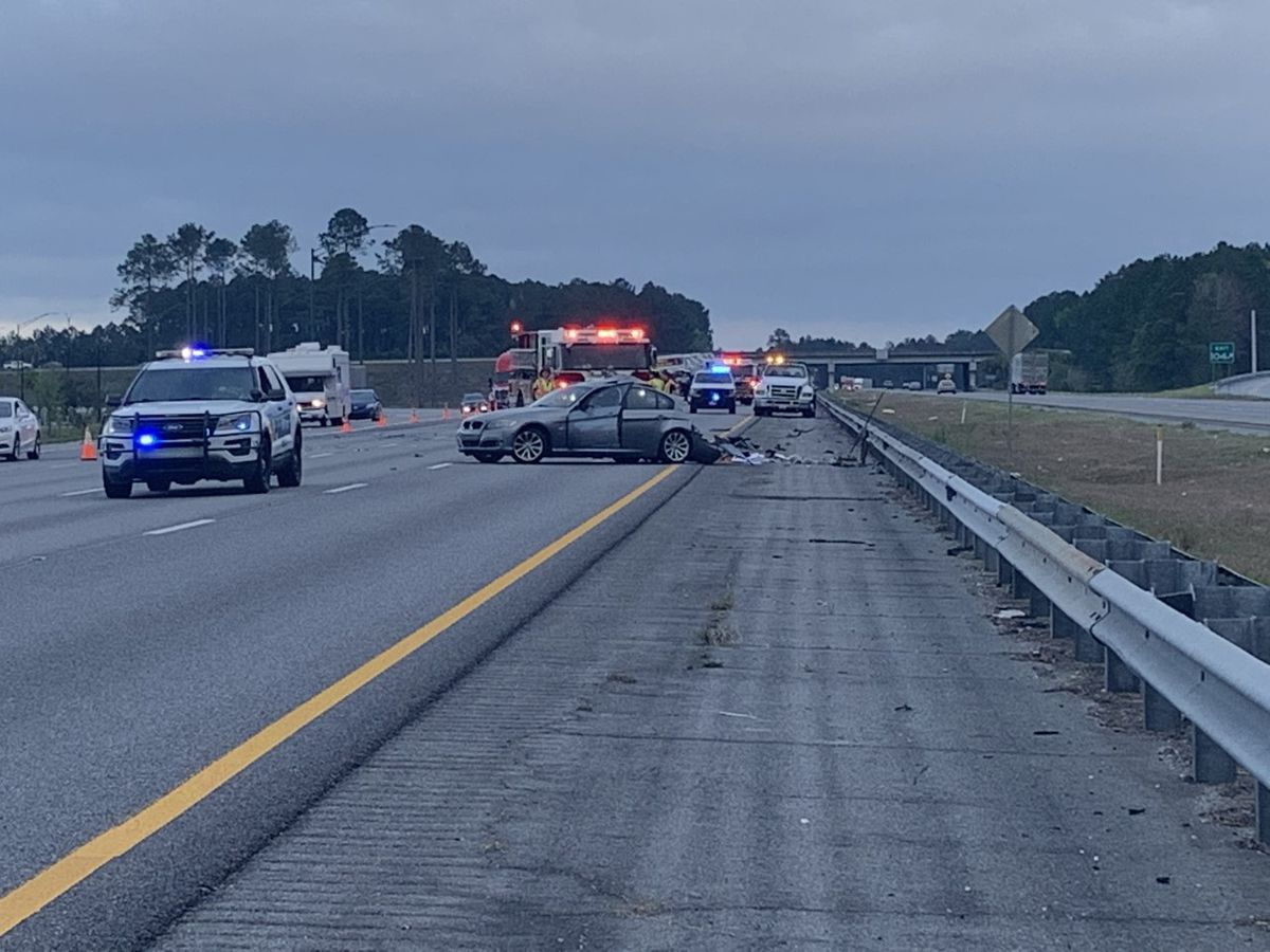 I-95 back open after wreck in Pooler