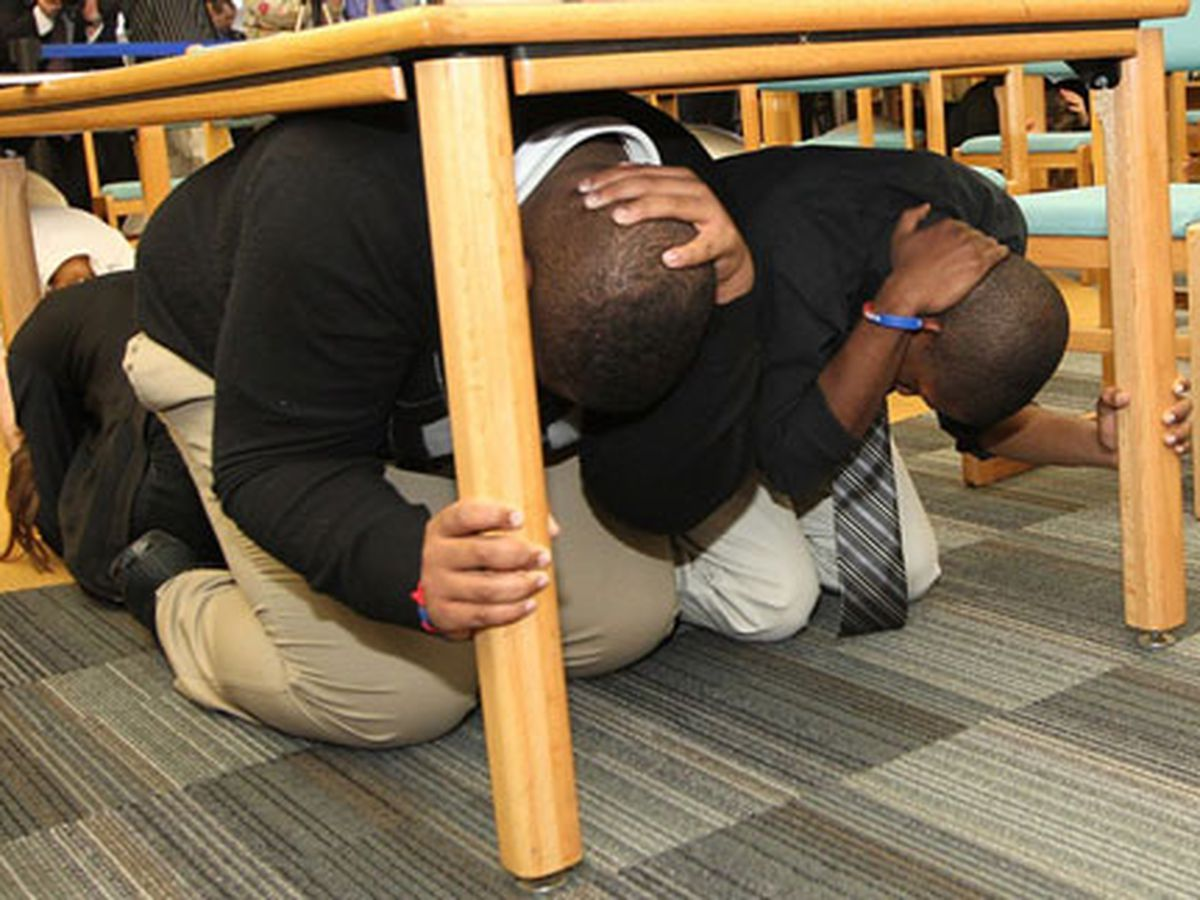 Great ShakeOut Earthquake Drills happening Thursday worldwide