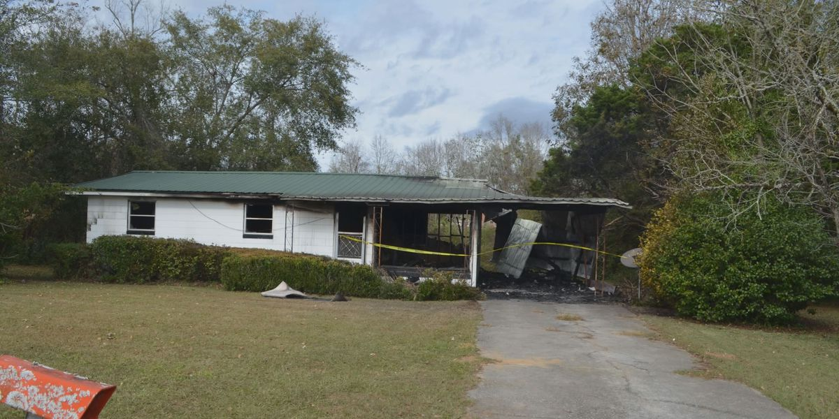 Evans County fire ruled arson