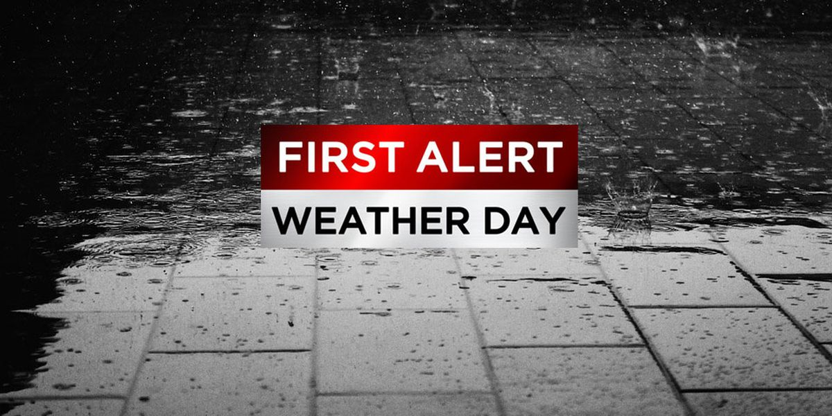 First Alert: Wet Monday morning commute, flooding possible