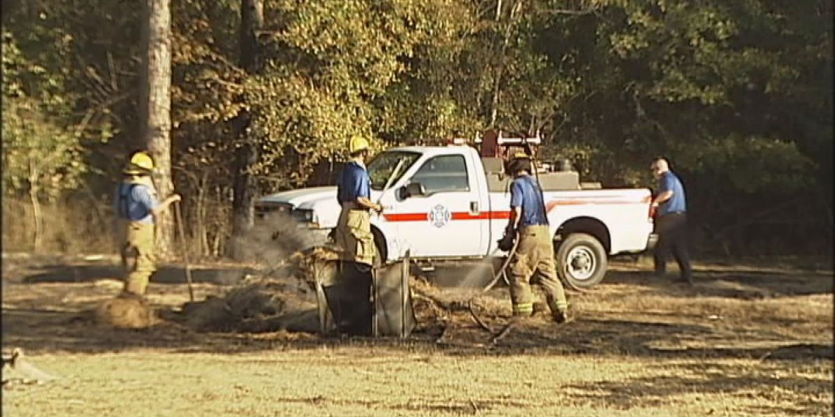 Firefighters warn of brush fires during hot, dry weather