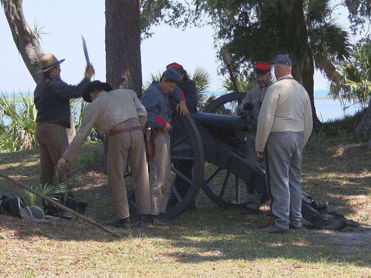 Fort McAllister holds Memorial Day events despite heat