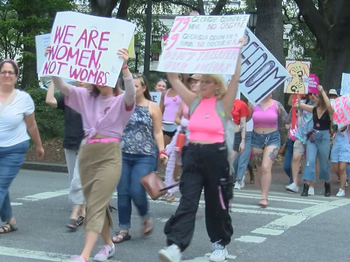 Pro-choice protests held Tuesday as more states pass abortion bans