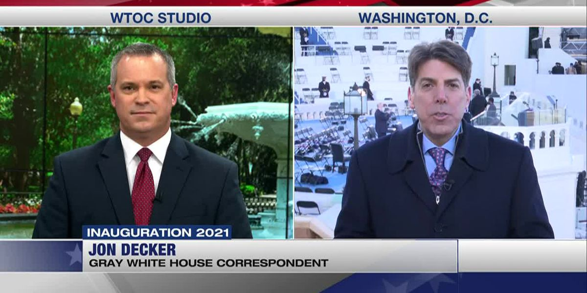 INTERVIEW: Jon Decker, Gray Television's White House correspondent, at the Biden Inauguration