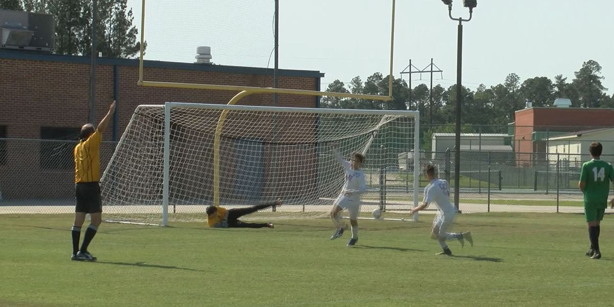 High school playoff soccer scores on May 3