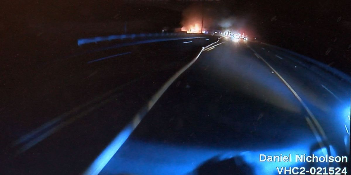 Police release bodycam footage from fire that damaged Rincon business