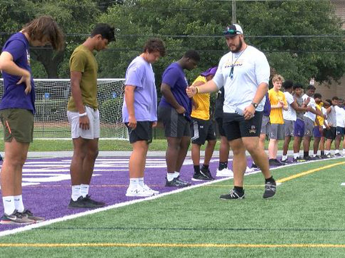 Area GHSA teams return to field for workouts