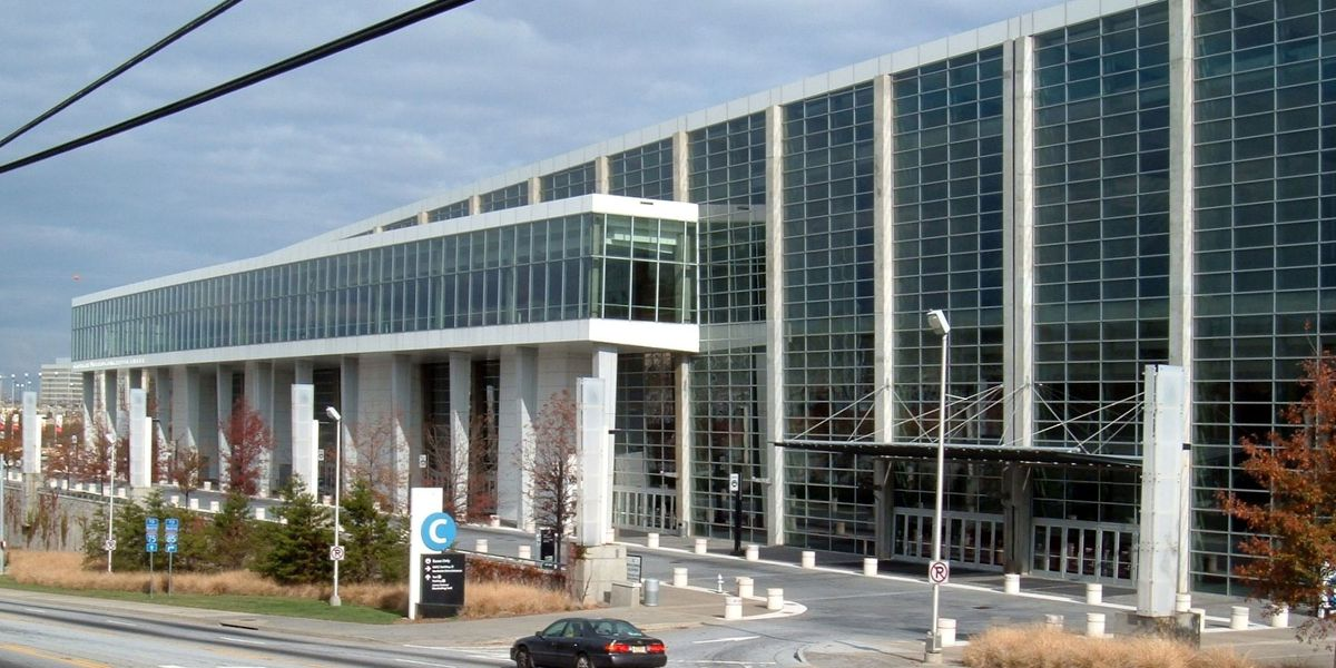 Virus patients to be sent to giant Georgia convention center