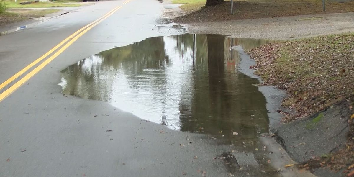 Heavy rains causing flooding in Beaufort Co.