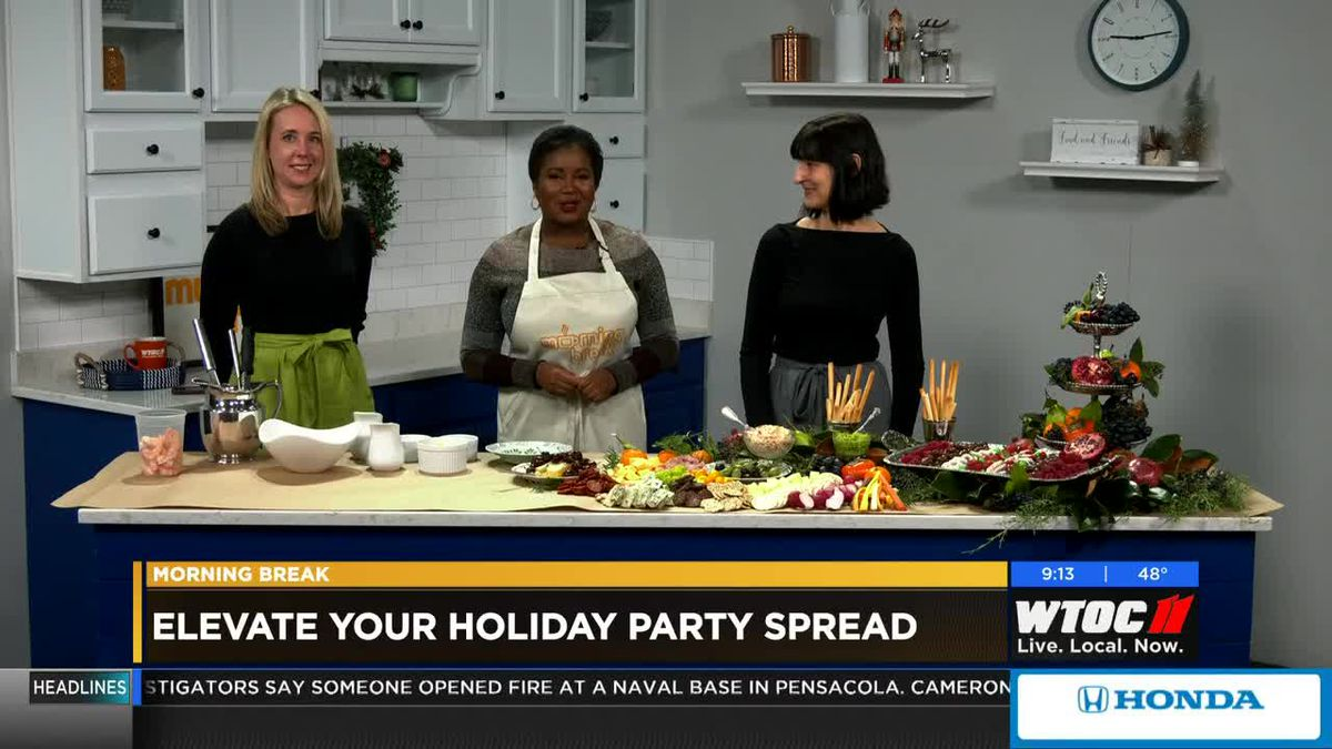 Elevate your holiday party spread