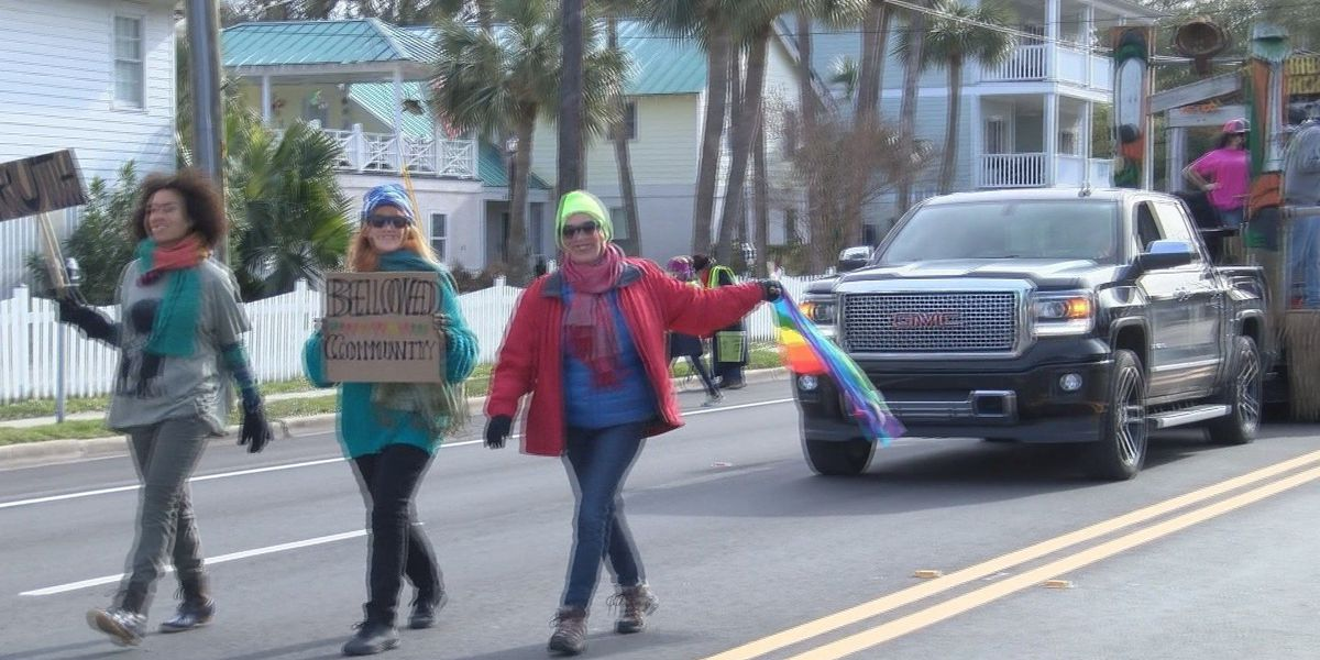 Tybee Island residents brave cold for Martin Luther King Jr. parade