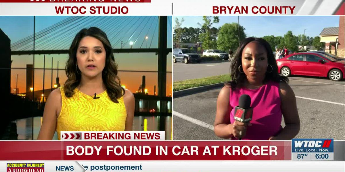 Police investigate after body found in car at Richmond Hill Kroger
