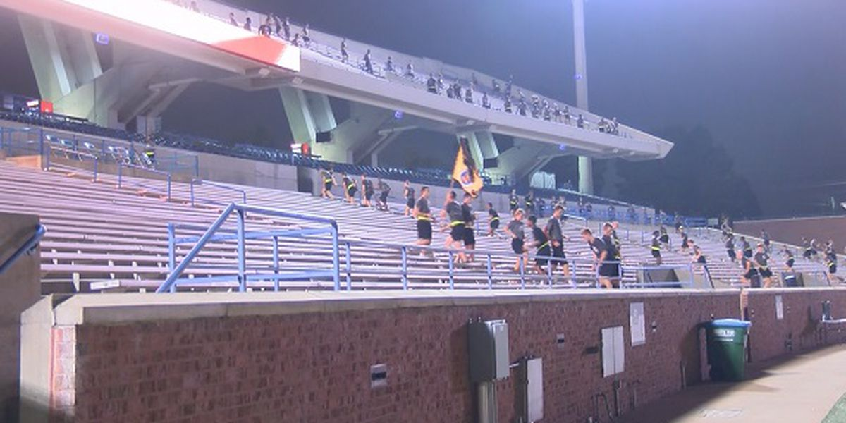 Georgia Southern ROTC honors 9/11 first responders