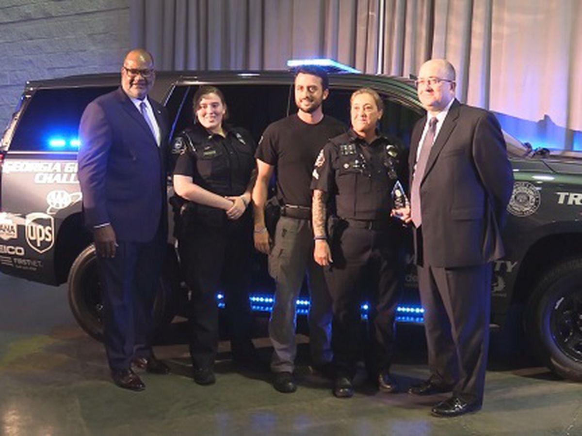 GSU Police awarded new vehicle to patrol traffic