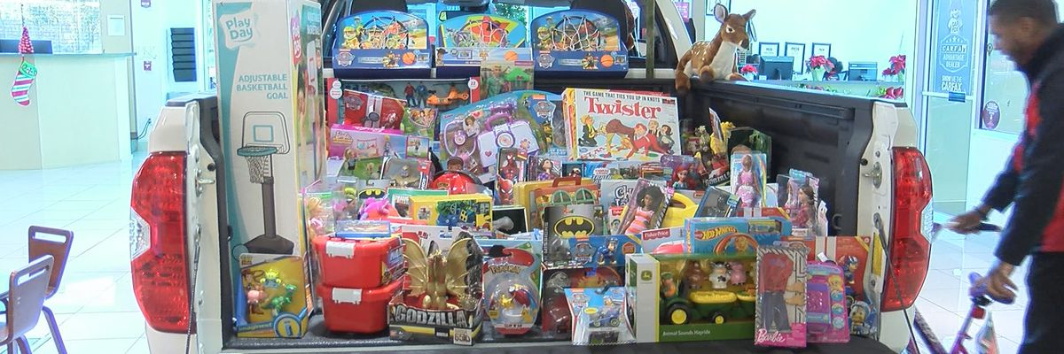 Chatham Parkway Toyota hosts Toys for Tots