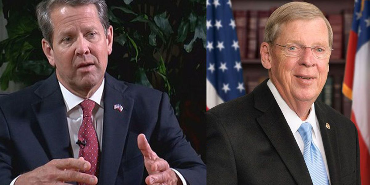 Gov. Kemp to take applications online for Isakson's senate seat
