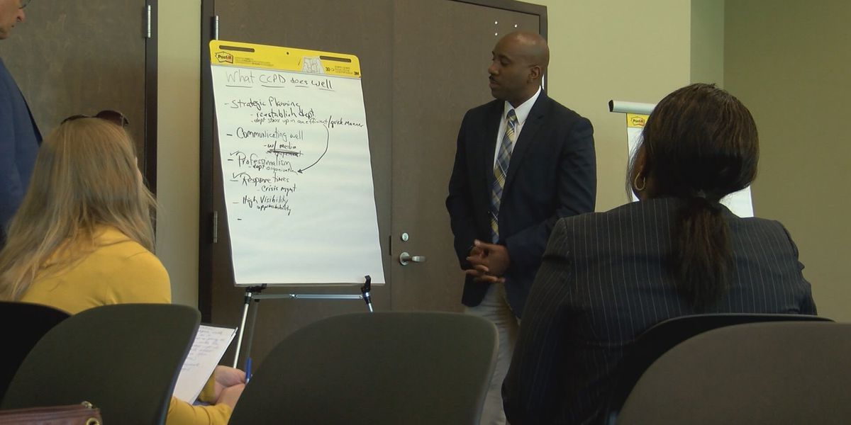Chatham Co. Police hold strategic planning meeting